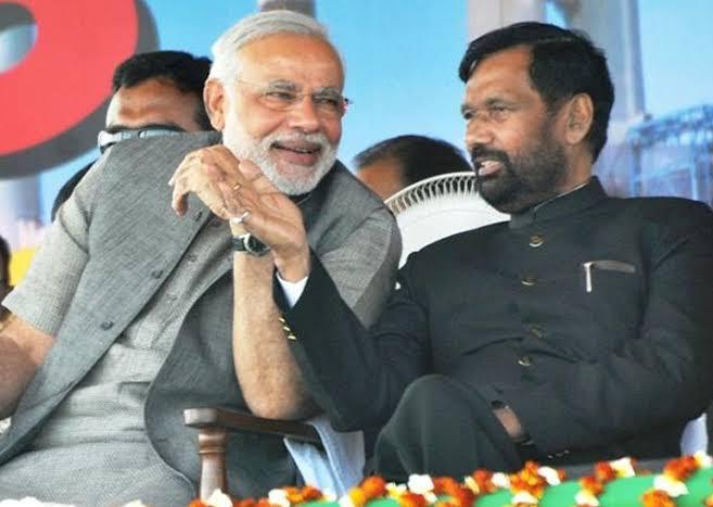 प्रधानमंत्री मोदी ने स्वर्गीय राम विलास पासवान जी की जयंती पर उन्हें याद किया