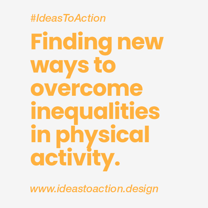 We're delighted to have been selected to take part in @designcouncil's #IdeastoAction programme in partnership with @Sport_England to help combat the deep-rooted inequalities in sport and physical activity.   Find out more here: https://t.co/iibhE55TNt