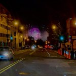 Image for the Tweet beginning: Watching fireworks from the comfort