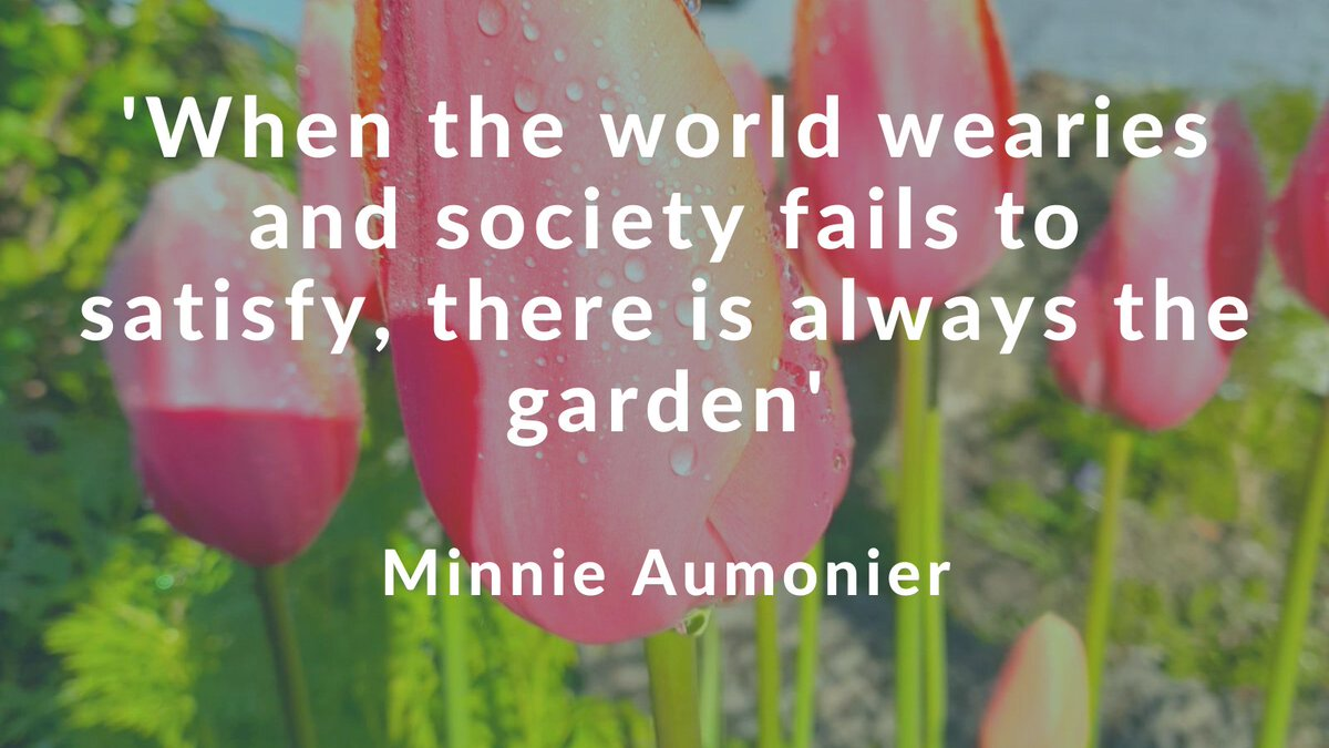What lovely words these are from 19th century poet and gardening enthusiast Minnie Aumonier.  @Corkcoco  @pure_cork  #purecorkwelcomes #lovegardening https://t.co/cILeqIElf2