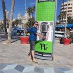 Image for the Tweet beginning: En Alicante disfrutando de un