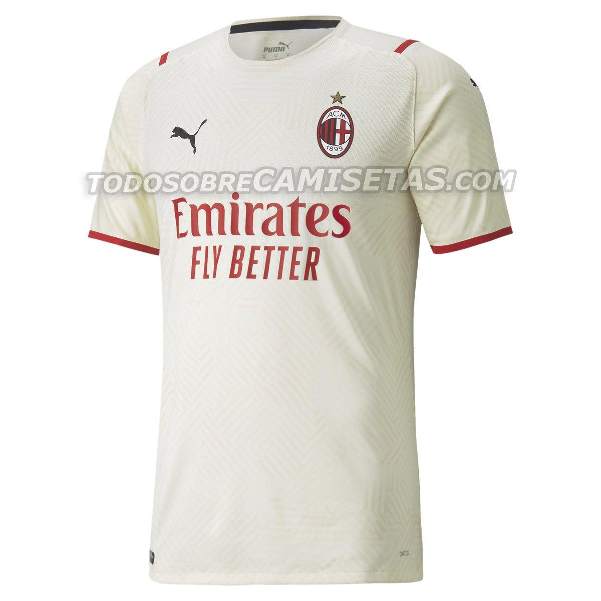 AC Milan 2021-22 Away Kit