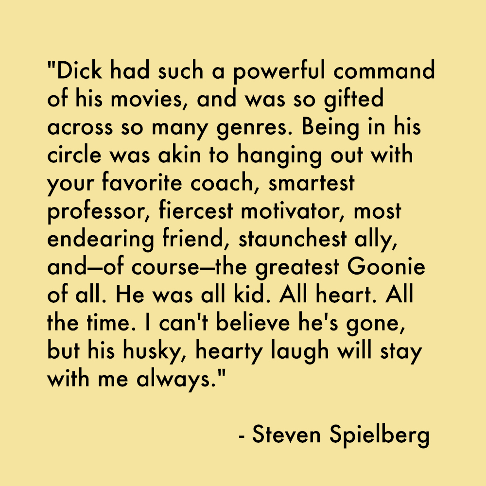 Steven Spielberg on Richard Donner