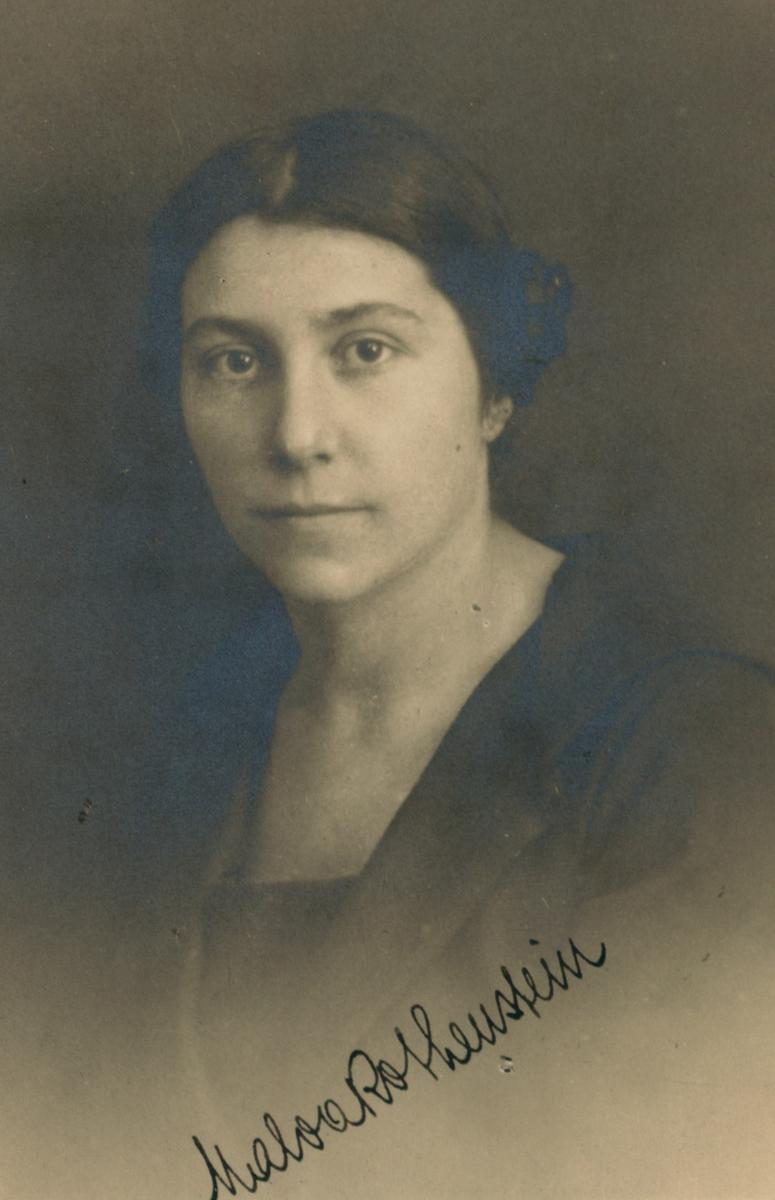 6 July 1892 | A Czech Jewish woman, Malvína Rothensteinová, was born in Prague. She was deported to #Auschwitz from #Theresienstadt Ghetto on 20 January 1943. She did not survive.
