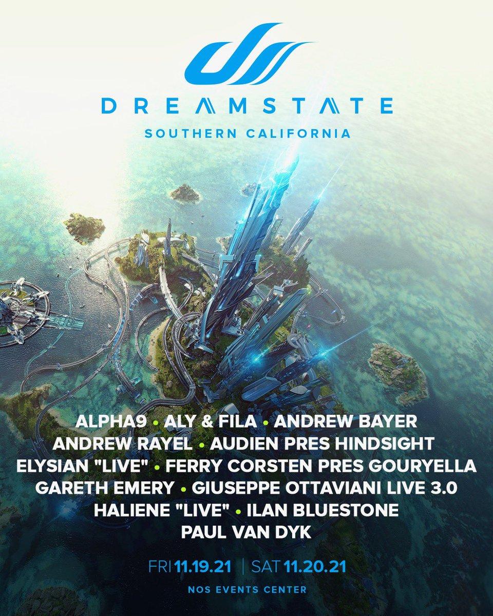 Dreamstate SoCal lineup 2021