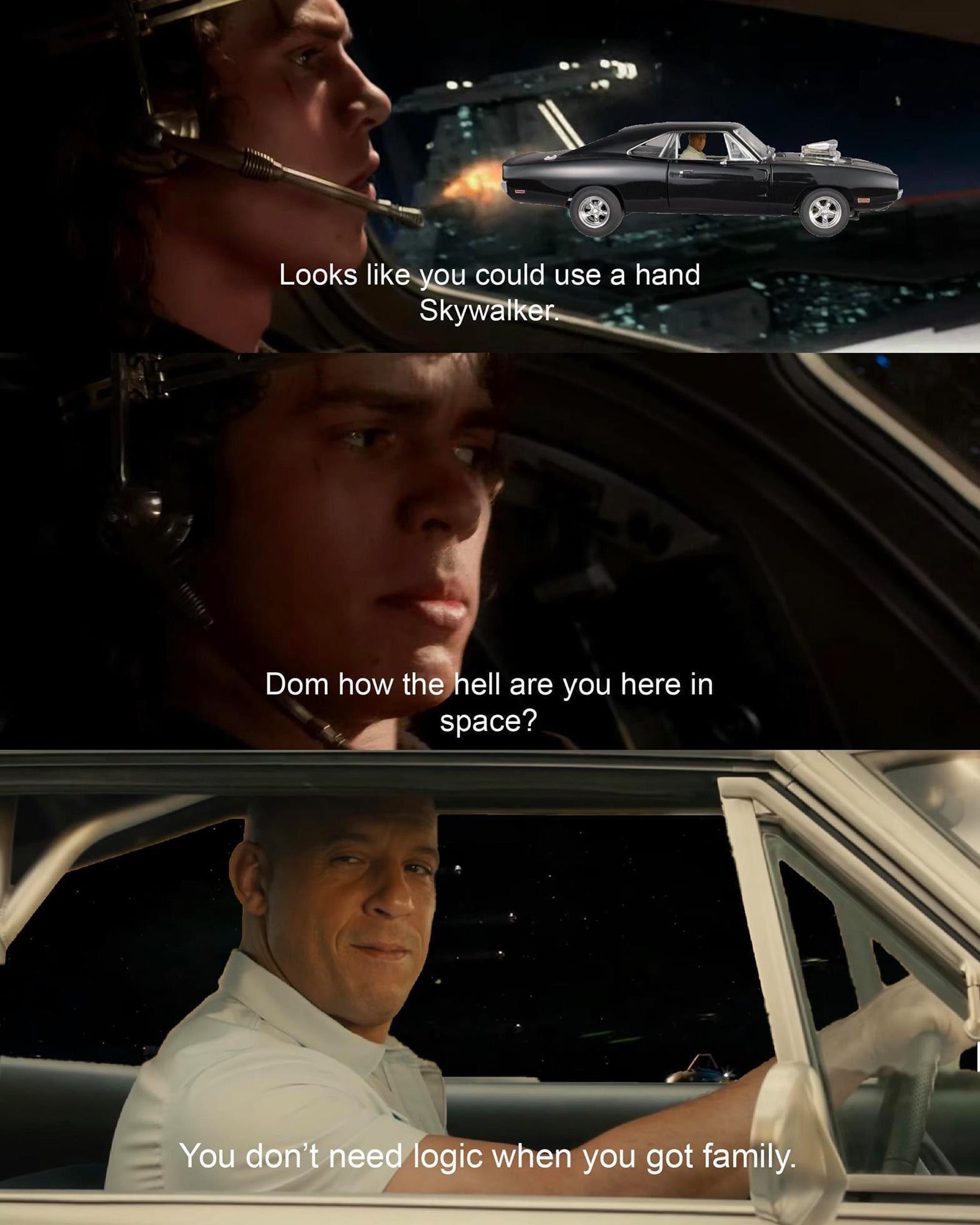 Vin Diesel Family memes