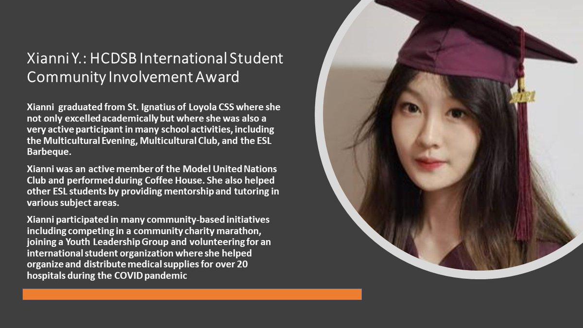 Congratulations Xianni! 💙🎓👏🏻