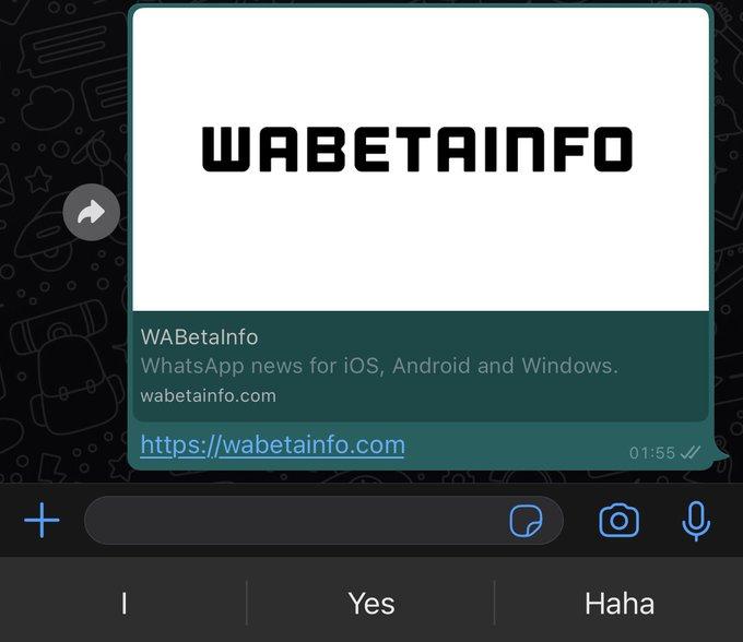 WhatsApp prepara vistas previas con mejoras visuales