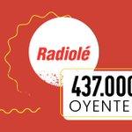 Image for the Tweet beginning: #EGM🌟 Gracias a los 437.000 oyentes