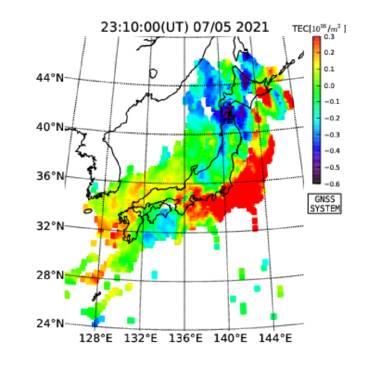 Tec リアルタイム 地震 123456789012345678901234567890