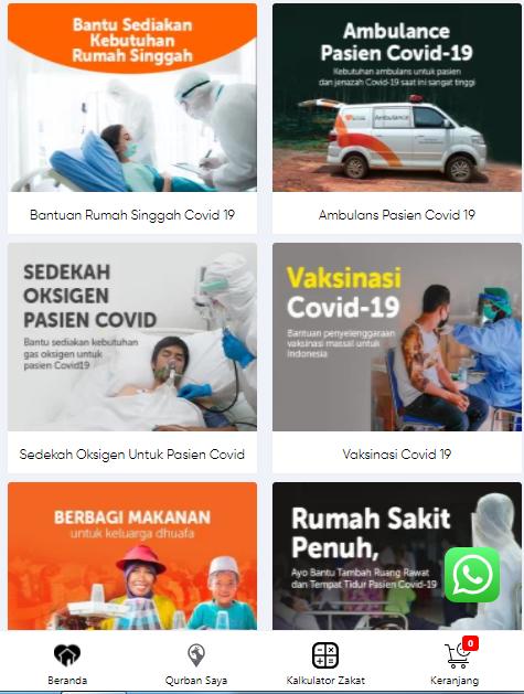 Berbagai program unggulan Rumah Zakat selama Pandemi Corona