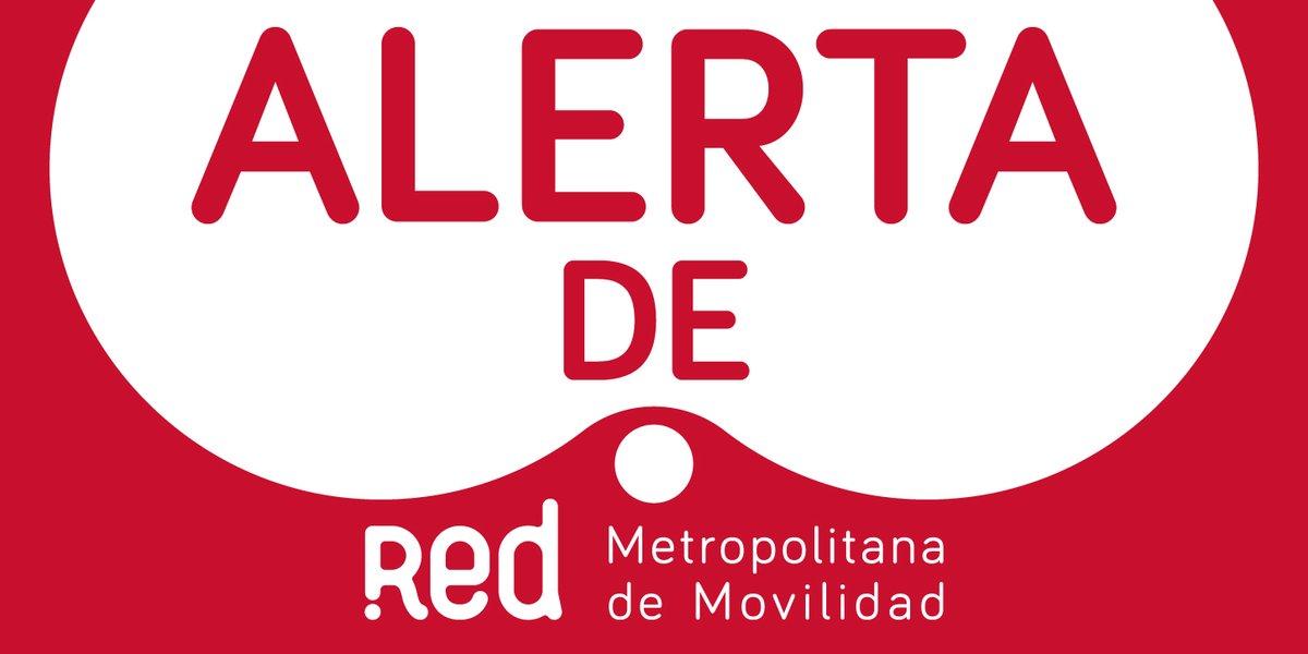 🔴⚪⚠🚌ATENCIÓN⚠Por manifestaciones Av. Lo Marcoleta/Colo Colo, #Quilicura, buses en ruta continúan realizando retornos anticipados🔃 y desvíos en el sector. 📲Infórmate en la App de Red el detalle del calle a calle. #alerta
