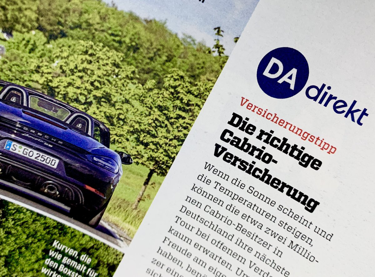 Wir sind offen für #Fahrspaß und sind in der aktuellen @Autozeitung auf #Deutschlandtour durch den #Hunsrück mit einem @Porsche Boxster. #WeitesLand https://t.co/cq9ZcS86ls