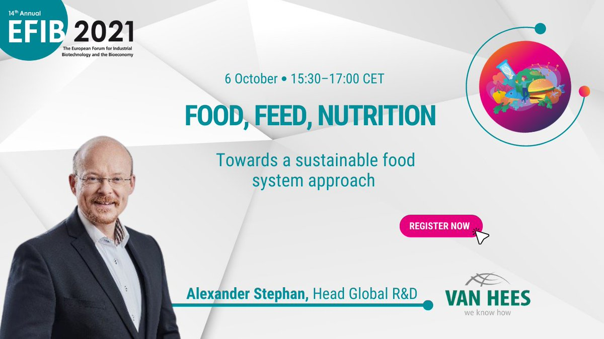 test Twitter Media - With #EFIB2021 getting closer, let's take a look at our great speakers!🧑🤝🧑 Alexander Stephan, Head of Global R&I, VAN HEES GmbH will speak about biotech use of food waste streams and fungi-based products at our #Food, #Feed & #Nutrition session.🥗🍞 ➡️https://t.co/WHb3mQ5XU6 https://t.co/r42DTOujC6