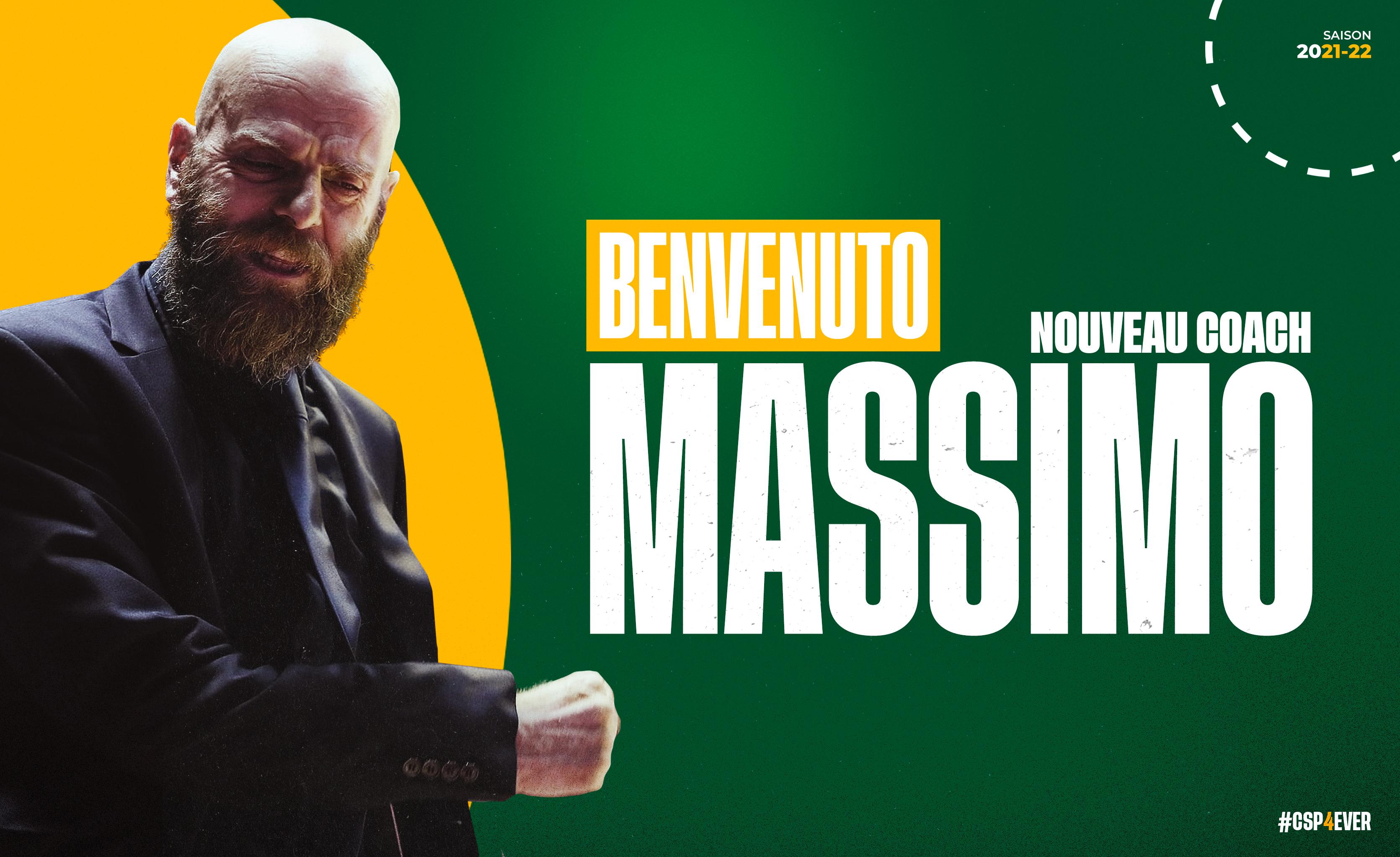 Il Limoges annuncia la firma di coach Massimo Cancellieri