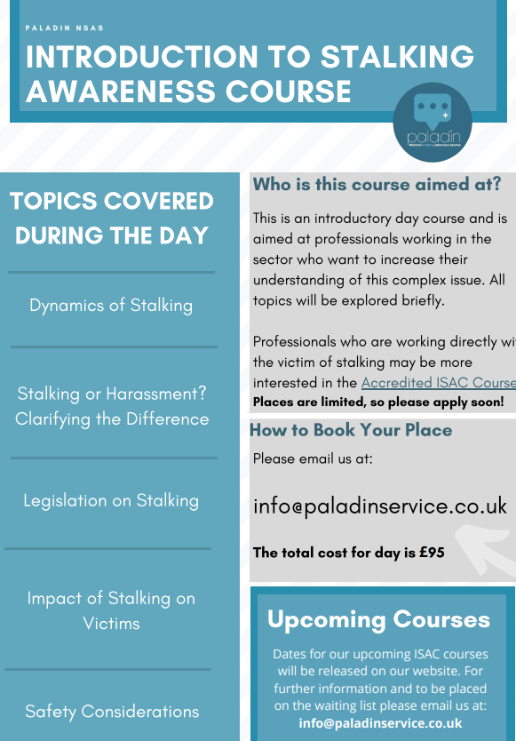 This is an introductory day course and is aimed at professionals working in the sector who want to increase their understanding of this complex issue. Click here for dates, time & application form: docs.google.com/.../1FAIpQLSc-…