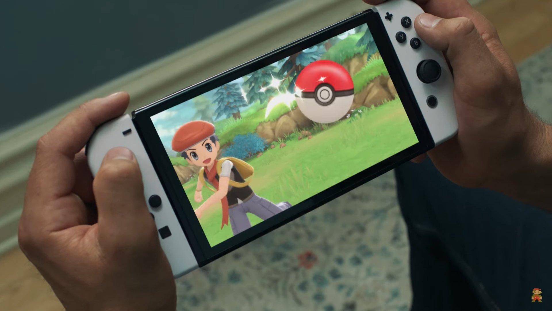Pokémon Diamante y Perla Switch Oled