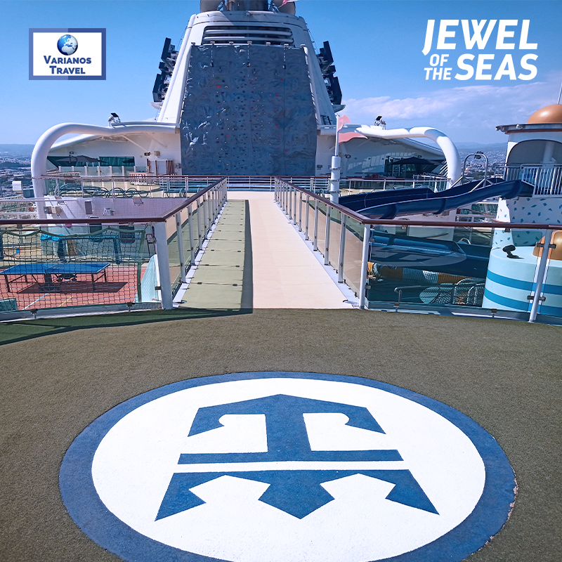 Testing the waters aboard Royal Caribbean's magnificent Jewel of the Seas! #ShakedownCruise #CyprusCruises #INeedAVacation