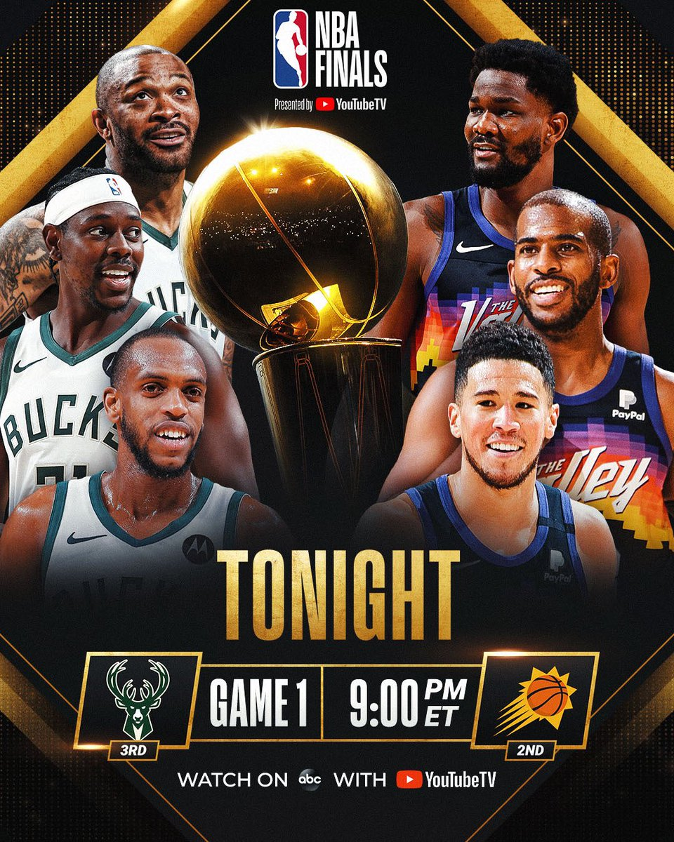 Nba On Twitter Bucks Vs Suns Both Teams Making Their 3rd Finals Appearance Mil Won Lone Title In 1971 Phx Seeks First Championship The Nbafinals Presented By