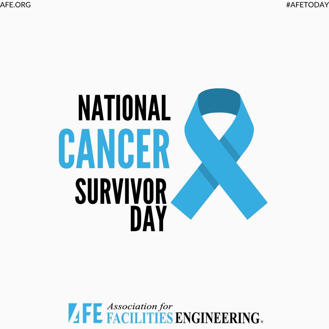 Join AFE in celebrating the lives of nearly 17 million cancer survivors nationwide for #NationalCancerSurvivorsDay. #cancer #life #cancerawareness #celebrate #cancersurvivors https://t.co/sC4KTflkkO