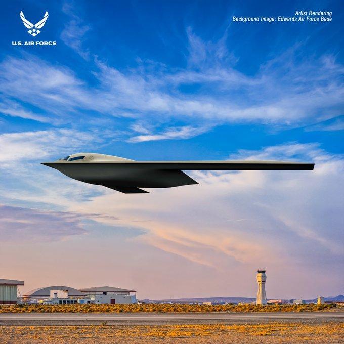 "B-21 ""Raider"" stealth bomber - Page 2 E5okwYzXwA05S_i?format=jpg&name=small"