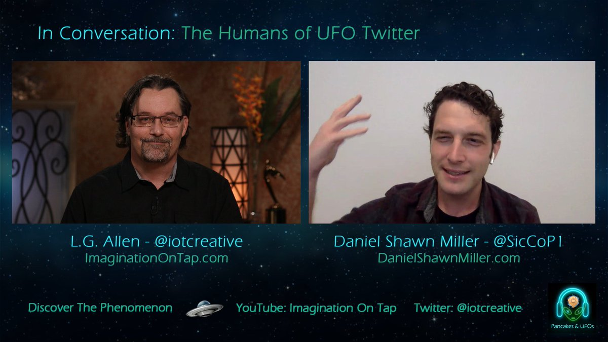 This conversation with @iotcreative was a real treat!  We had a great chat that runs the gamut from my own misgivings with the stigma, dealing with rejection, and navigating the landmines of communicating over #ufotwitter. https://t.co/ZqP2C34ZE6