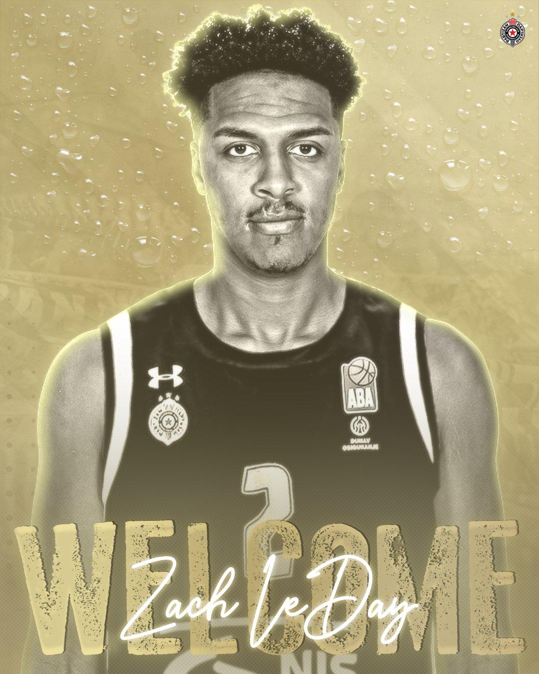 Il Partizan Belgrado annuncia la firma di Zach LeDay