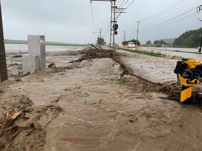 【山陰地方大雨】一畑電車が壊滅状態に 7月7日8日の終日運転見合わせを決定