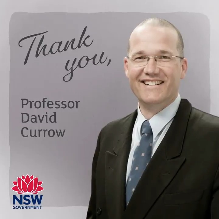 Thank you Professor Currow! All the best in your new position as Deputy Vice-Chancellor at @UOW