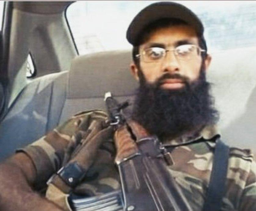 Hizbul Mujahideen commander Halwai was killed by security force