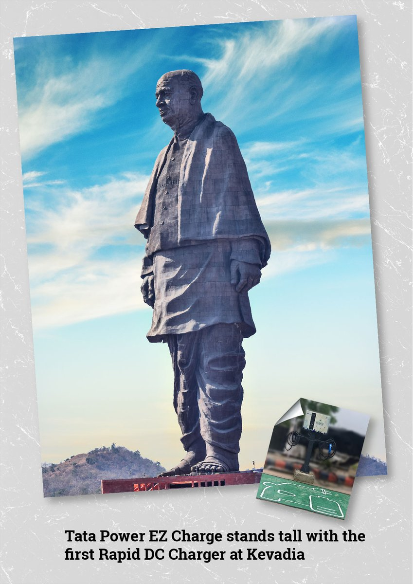 Tata Power installs first rapid EV charger near the Statue of Unity