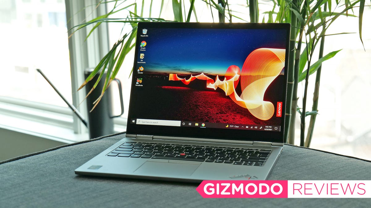 Lenovo's Titanium 2-in-1 Is Perfect for Post-Pandemic Work Travel