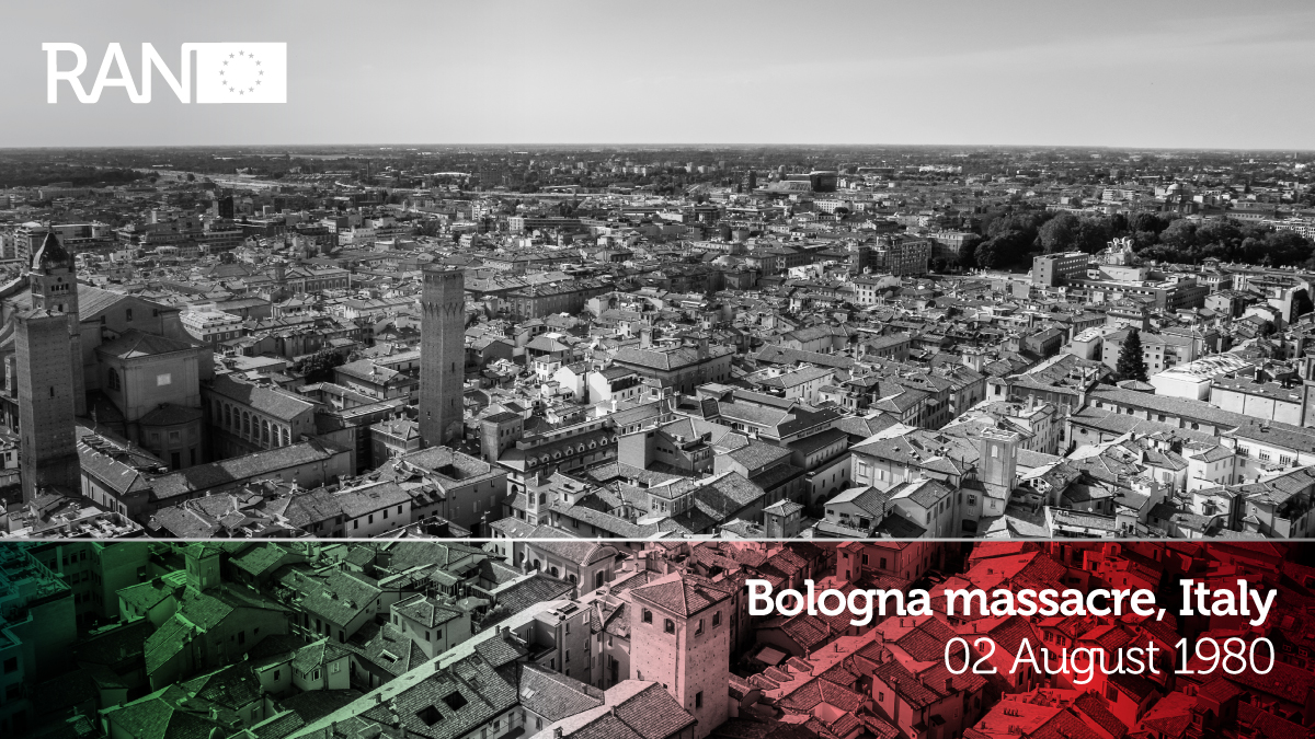We take a moment to remember the victims of the 1980 Bologna terrorist #CBRNe (#explosive) attack. Our fight-against-crime-&-terrorism project aims to better first responder 👮♀️👩🚒preparedness & response to such incidents. #FCT #EUSecurityResearch @EUHomeAffairs https://t.co/z83AoE4BUs