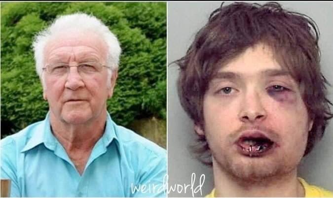 74歳のお爺さんが、24歳の強盗をボコボコに!返り討ち