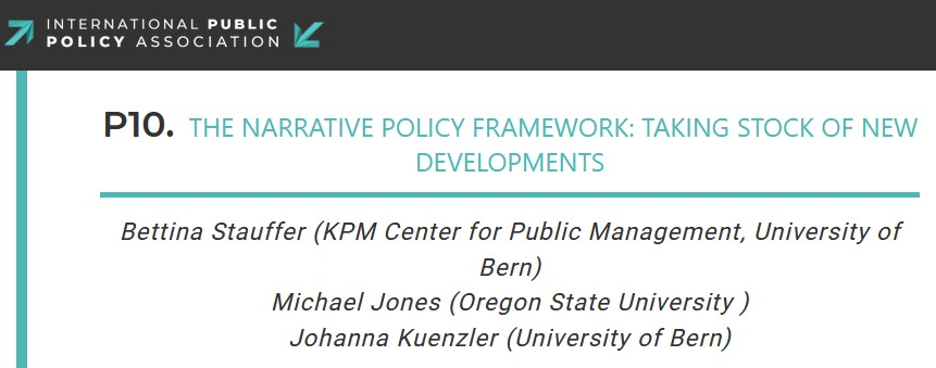 Looking forward to that! Tomorrow ICPP5 panel and discussion on the NPF