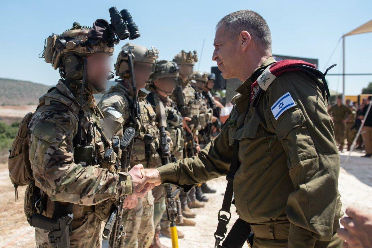 رئيس هيئة الأركان الجنرال أفيف كوخافي يزور ميدان التمرين الدولي
