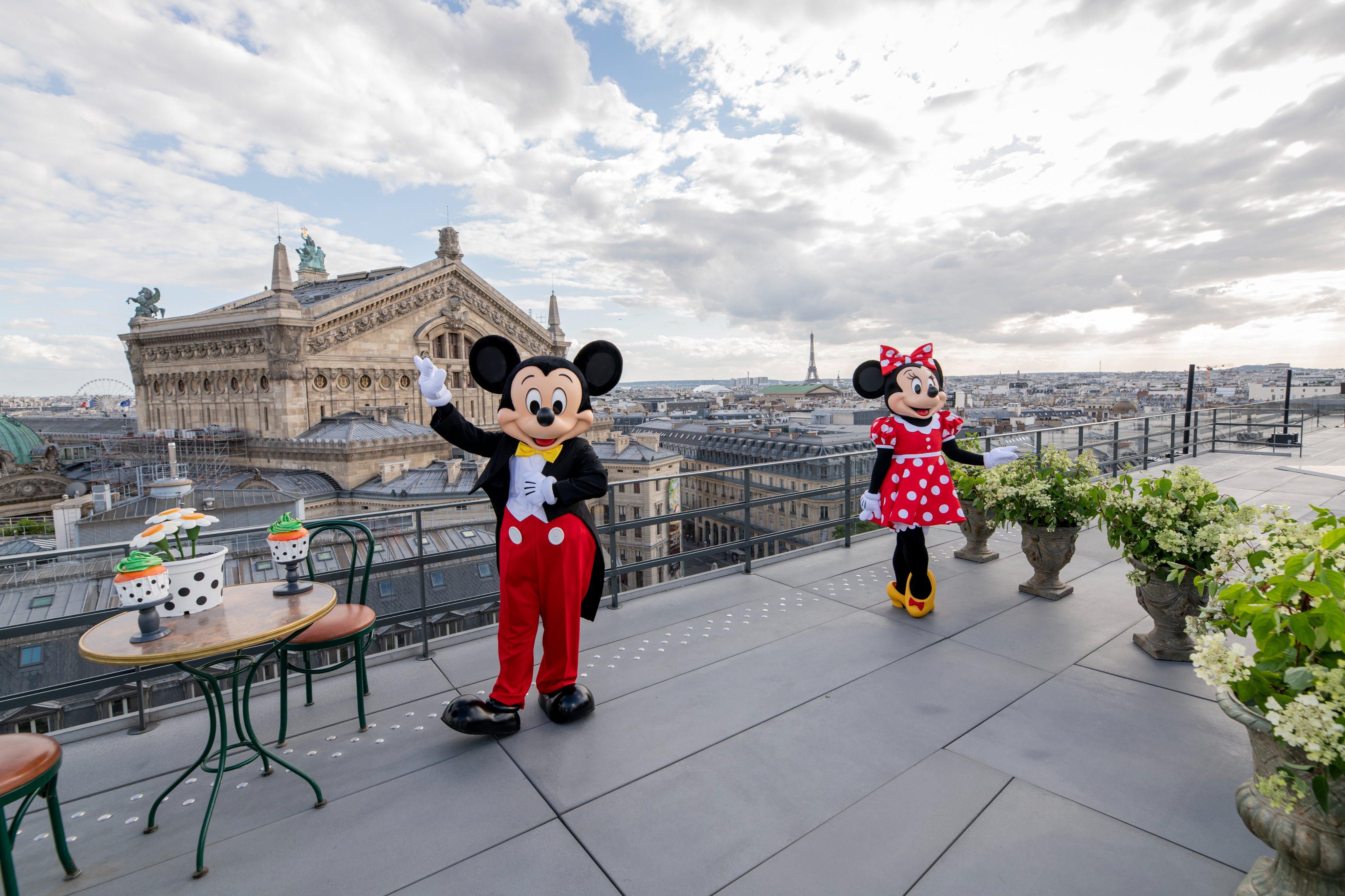 Disneyland Paris invade a Galeries Lafayette
