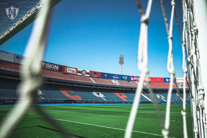 Estádio La Nueva Olla, em Assunção, no Paraguai
