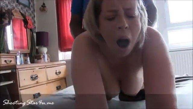 Hotwife of Small White Dicked Hub Takes BBC to bedroom leaving hub behind to count his winnings  Then