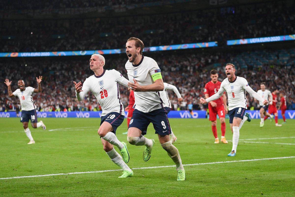 بصعوبة إنجلترا تنتصر على الدنمارك و تتأهل إلى نهائي كأس أمم أوروبا