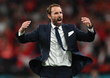 Pelatih Inggris Gareth Southgate membawa anak asuhannya menembus final Euro untuk pertama kalinya sejak turnamen dimulai 1960.