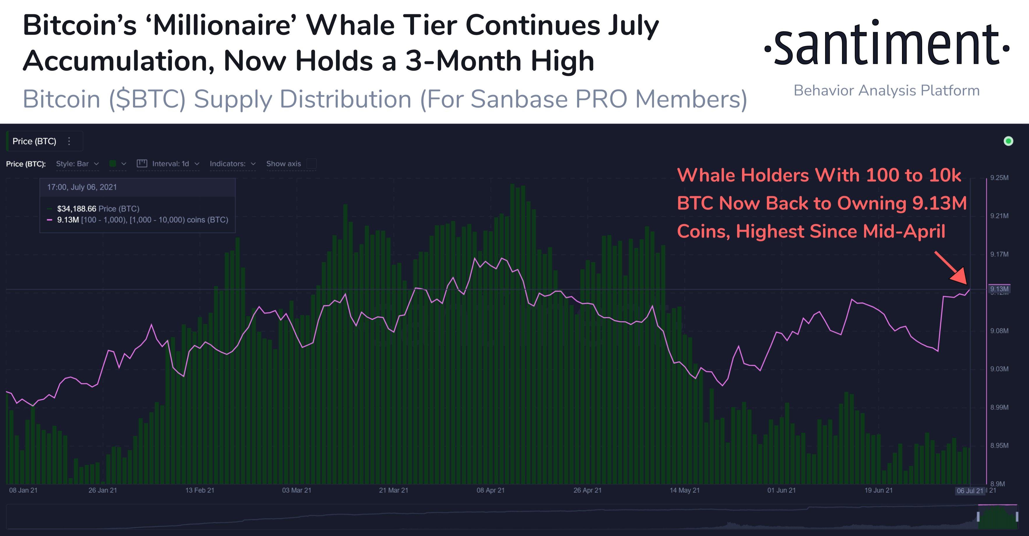 Bitcoin: velryby stále nakupují