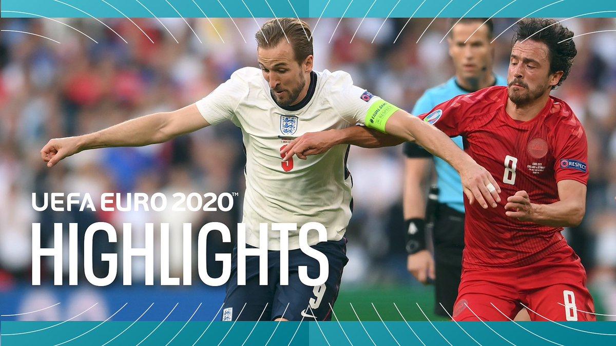 BBC EURO 2020 Highlights - July 07, 2021