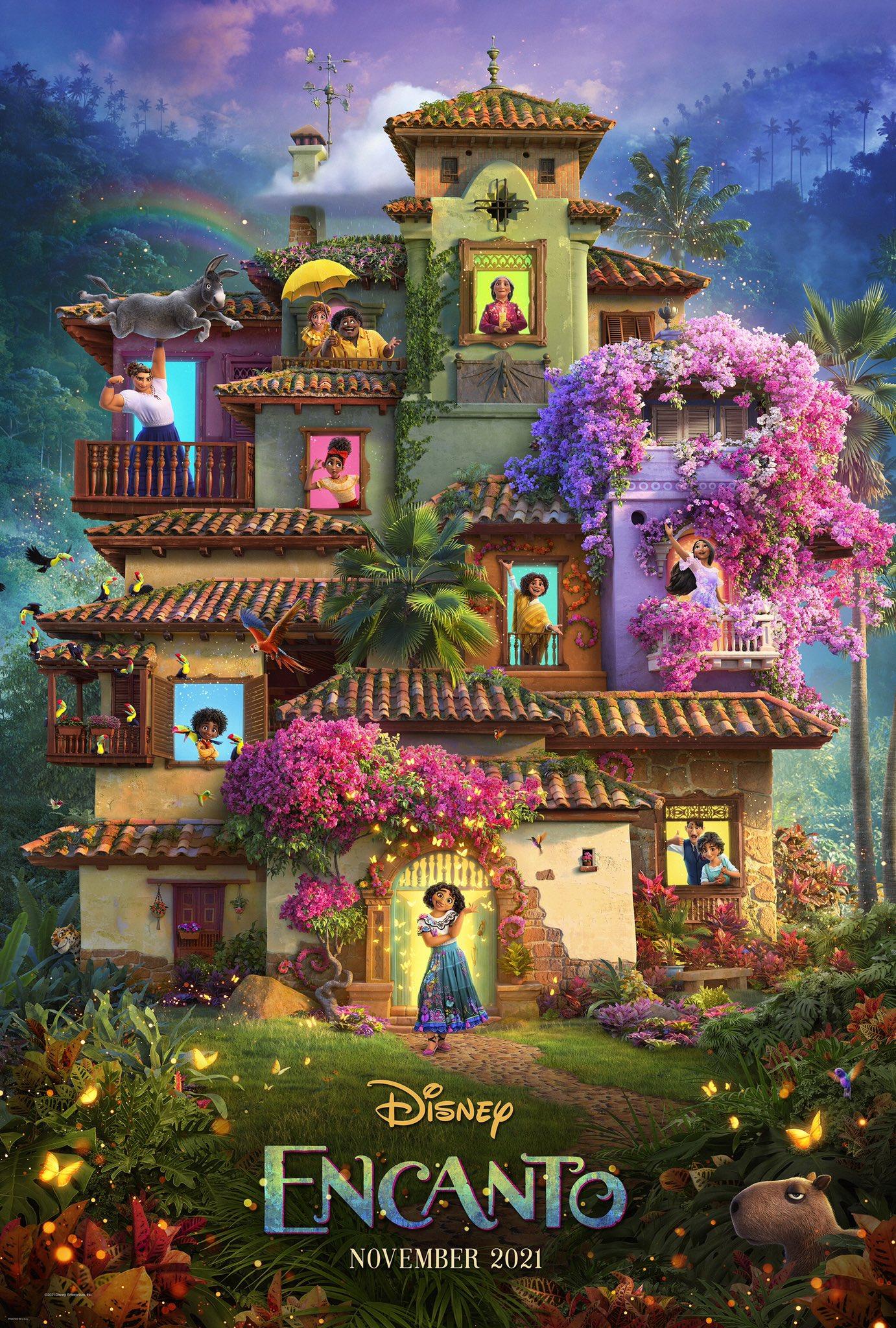 Encanto - La Fantastique Famille Madrigal [Walt Disney - 2021] - Page 4 E5vxVEQVcAAR55B?format=jpg&name=large