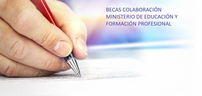 Becas de Colaboración del Ministerio