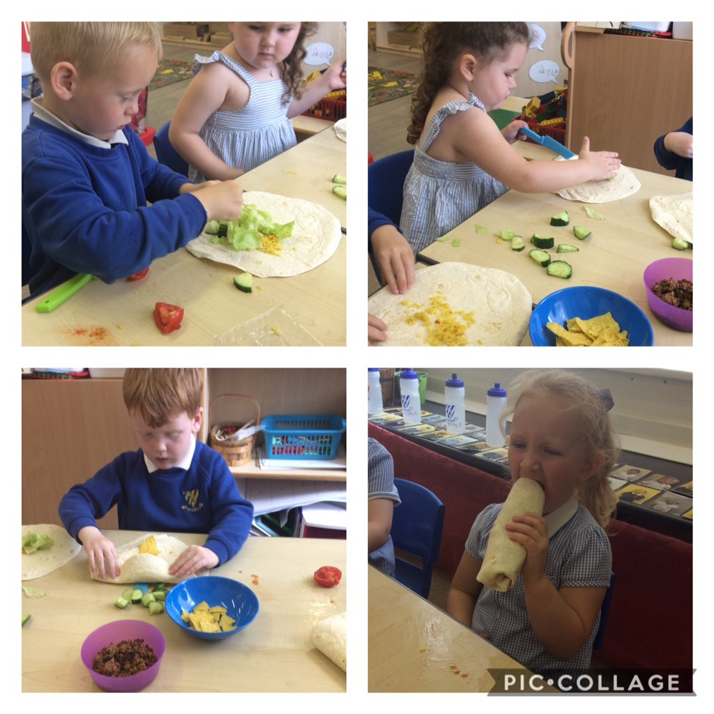 Wow they look healthy and yummy! Well done Nursery! #GSPSEYFS #HealthyEating #healthandwellbeing