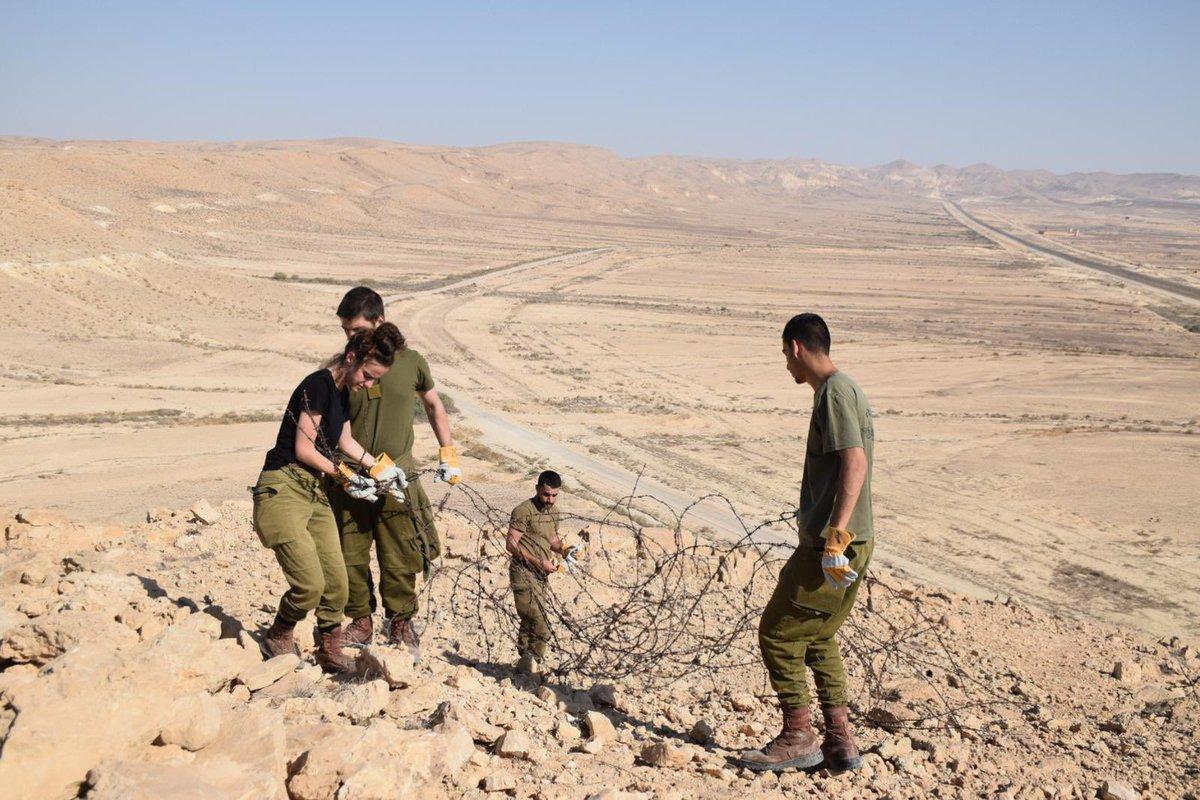 جنود جيش الدفاع ينظفون الحدود مع مصر حفاظاً على البيئة والحيوان, هذا هو جيش حسن الجوار