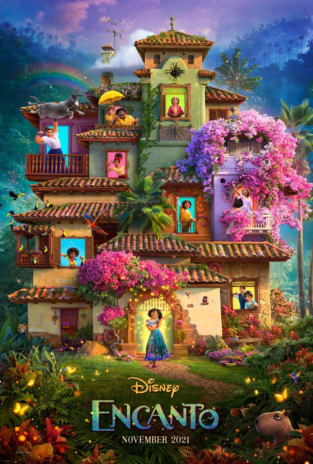Disney's Encanto trailer official poster