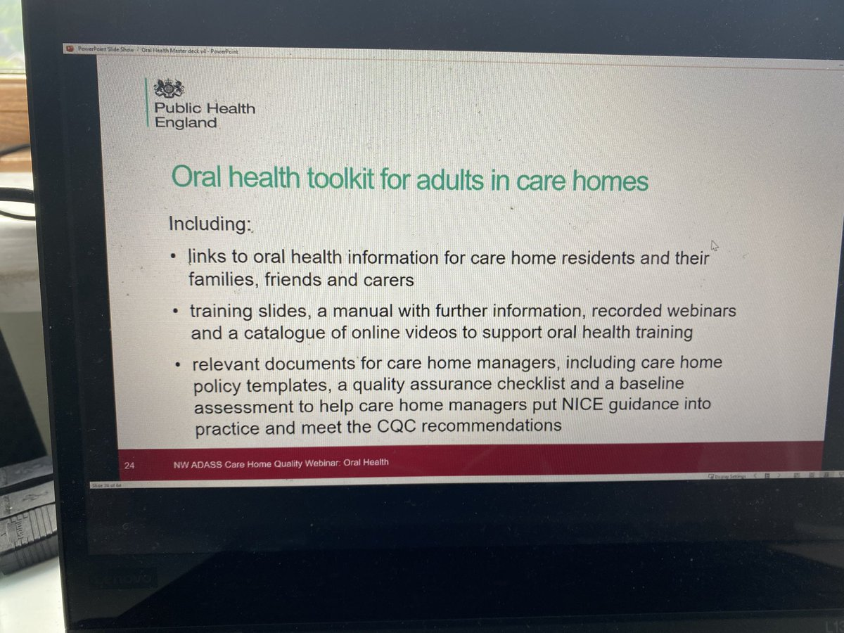 test Twitter Media - Our second #quality improvement webinar for care home staff today this time with a focus on oral health 🦷   Many NW providers benefitting from this one 👍💪 https://t.co/R1oUdoEv80