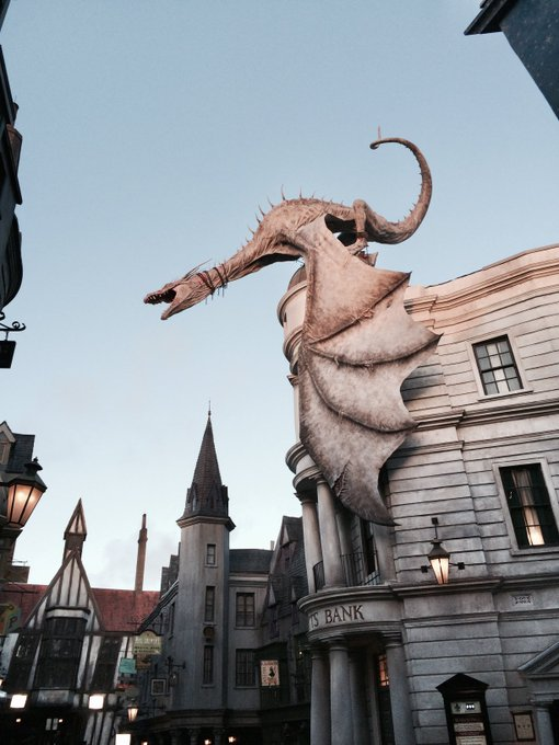 Happy 7th birthday to The Wizarding World of Harry Potter Diagon Alley!